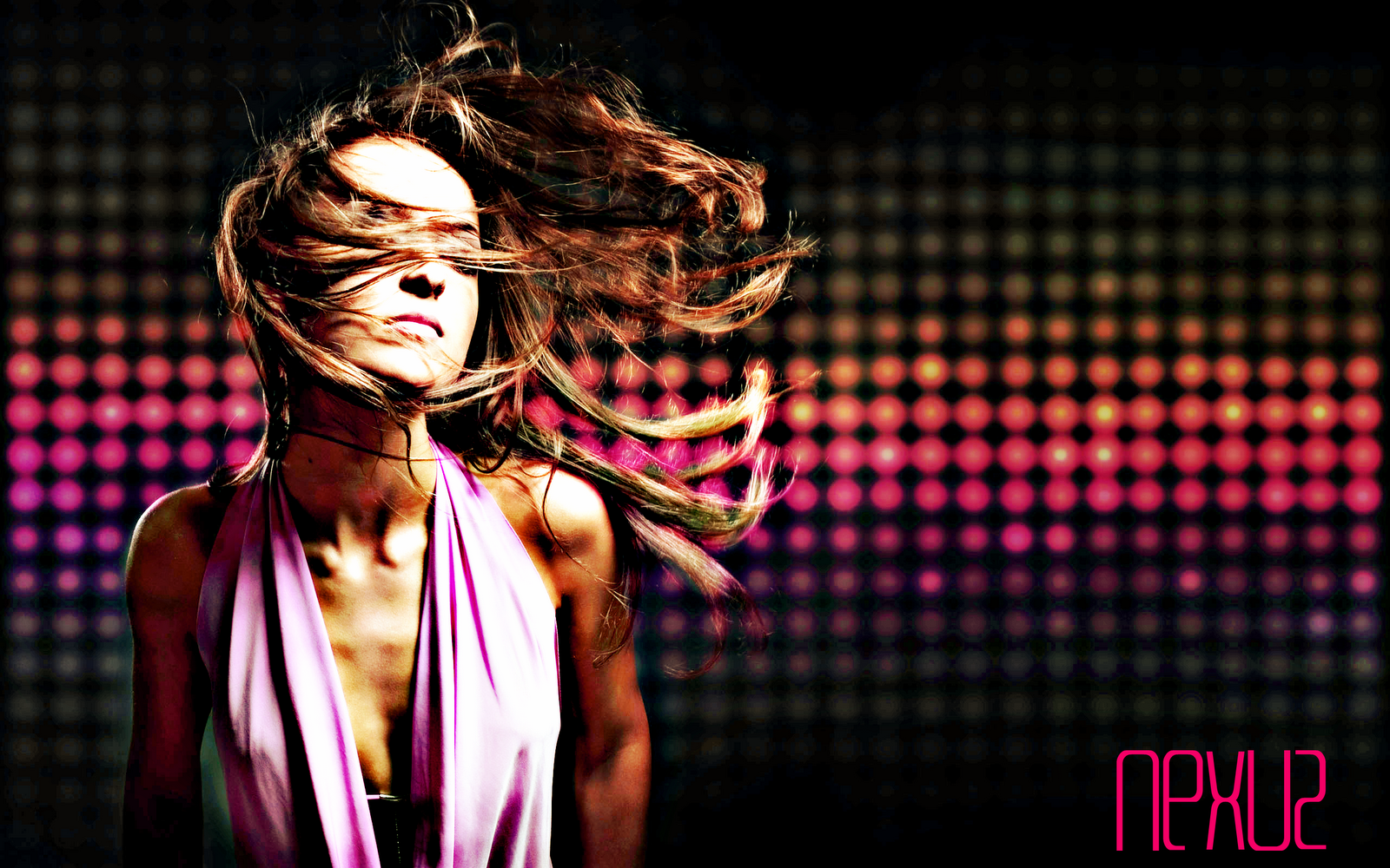 Image gallery for : girl abstract wallpaper